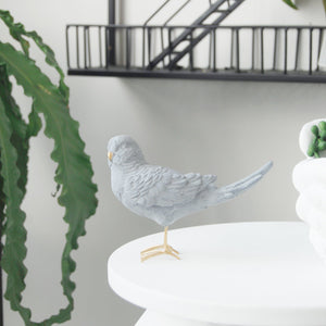 White Moose Budgie White Gold - Global Free Style