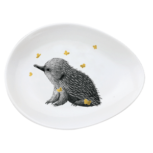 Urban Trinket Dish Echidna with Butterfly - Global Free Style