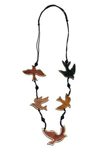 Cinnamon Creations Bird Necklace Gold - Global Free Style