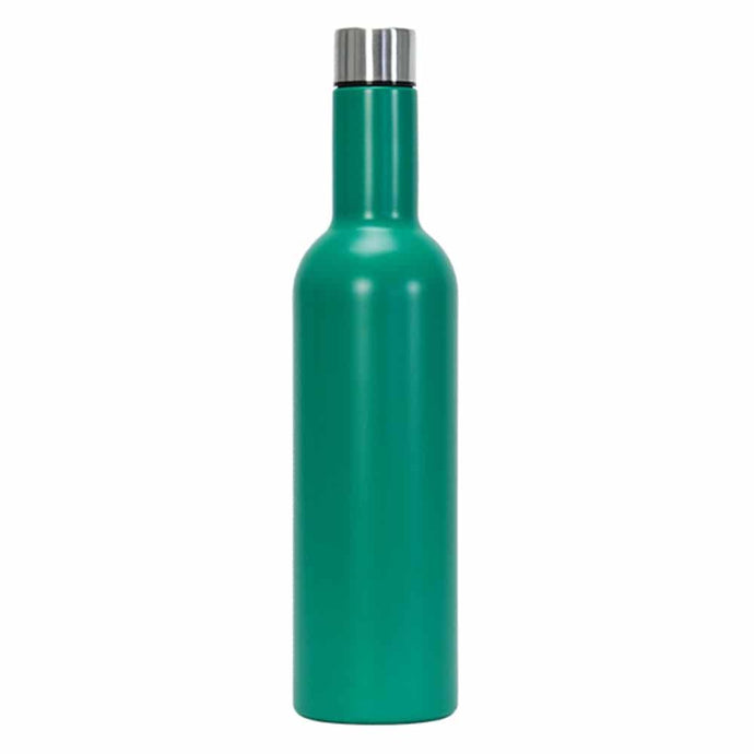 Annabel Trends Wine Bottle Double Walled Stainless Steel Bright... - Global Free Style