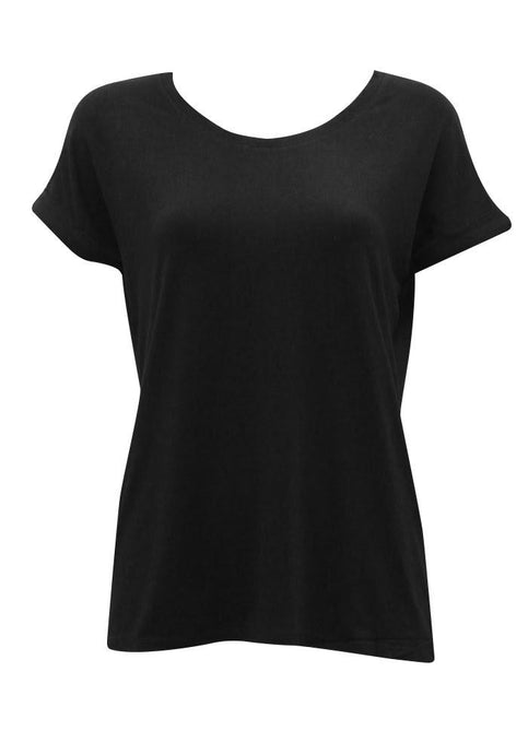 Sunny Girl Jersey Top Black - Global Free Style