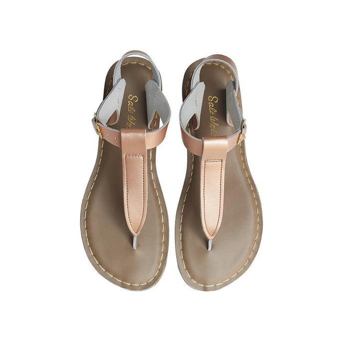 Salt Water Adult T-Thong Shoes Adult Rose Gold - Global Free Style