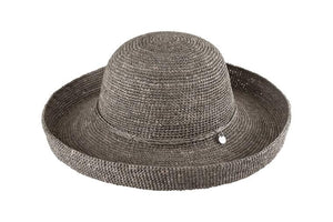 Kooringal Ladies Upturn Raffia Hat Pebble - Global Free Style