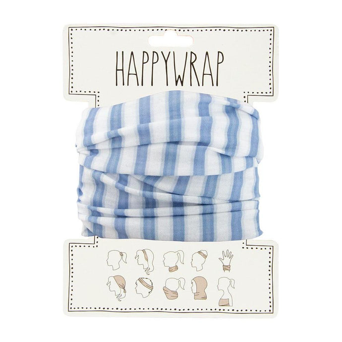 Annabel Trends Happy Wrap Blue and White Stripe - Global Free Style