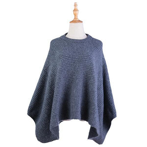 Ameise Luna Poncho Dark Grey - Global Free Style