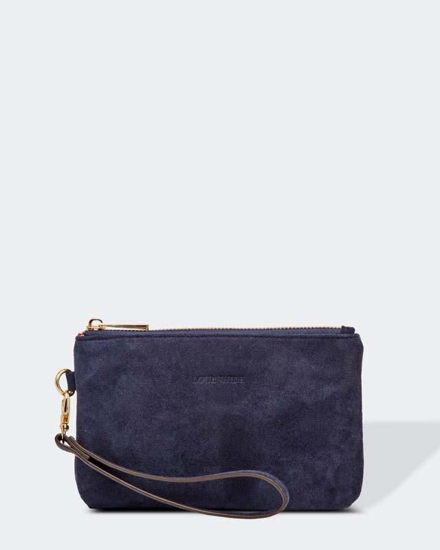 Louenhide Camille Suedette Navy Purse - Global Free Style