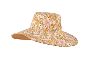 Millymook Girls Wide Brim Hat Lori Orange - Global Free Style