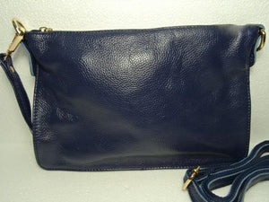 Daisys Collection Clutch/Crossbdy Leather navy - Global Free Style