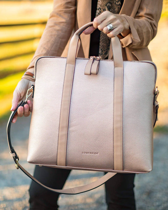 Louenhide Rhodes Laptop Bag Pink Champagne - Global Free Style