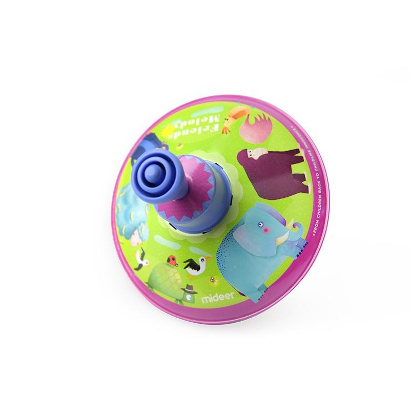 ToysLink Tin Spinning Top Animal - Global Free Style