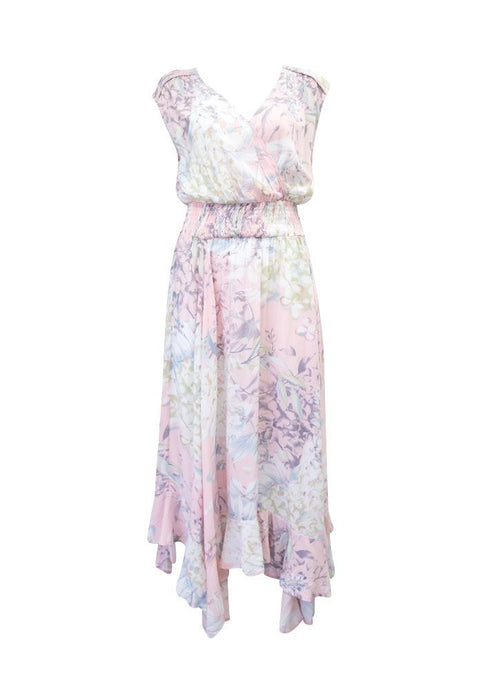 Sunny Girl Lynda Long Dress Pink - Global Free Style