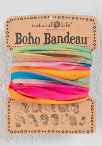 Natural Life Boho Bandeau Full Tie-Dye 2 Colours - Global Free Style