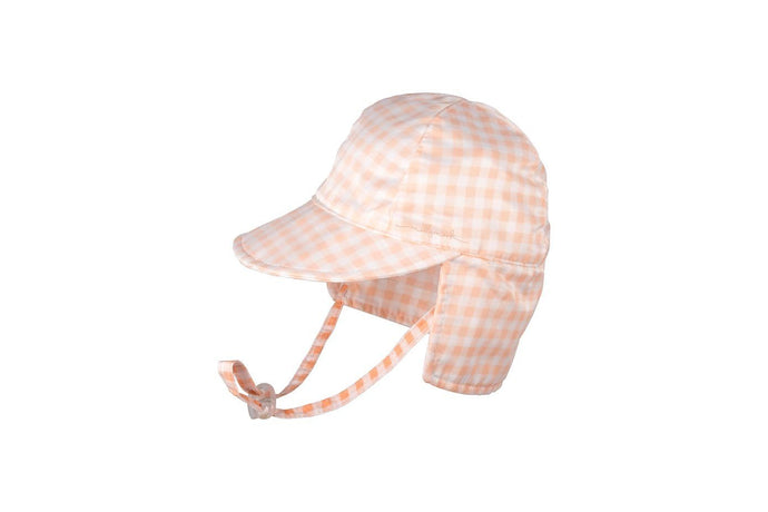 Baby Millymook Baby Girls Legionnaire Hat Polly Peach - Global Free Style
