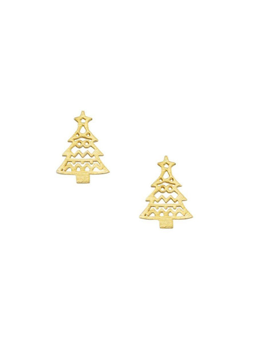 Tiger Tree Gold Christmas Tree Studs - Global Free Style