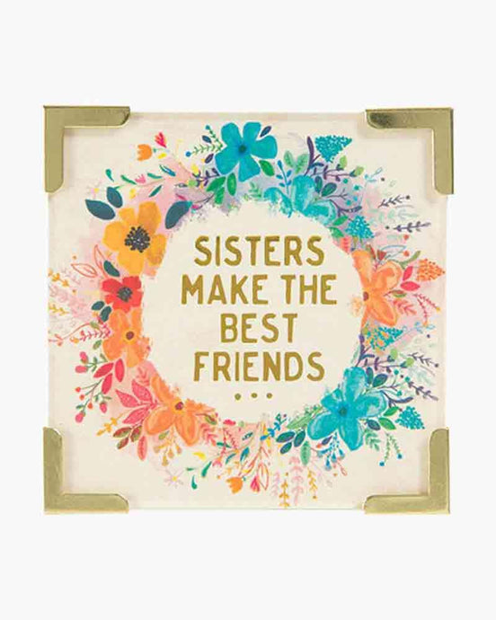 Natural Life Corner Magnet Sisters Best Friends - Global Free Style