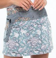 Boom Shankar Rosanna Reversible Short Skirt Penny - Global Free Style