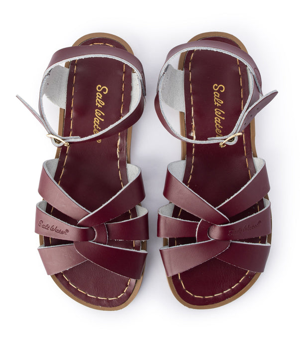 Salt Water Original Shoes Claret Adult - Global Free Style
