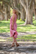 Boho Cohan Midi Sleeveless Dress Pink - Global Free Style