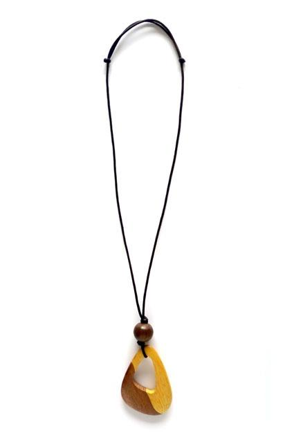 Cinnamon Creations Tear Pendant Necklace Natural - Global Free Style