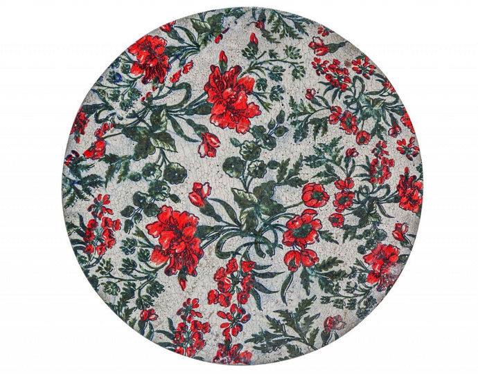 Lavida Tray Round Carnation - Global Free Style