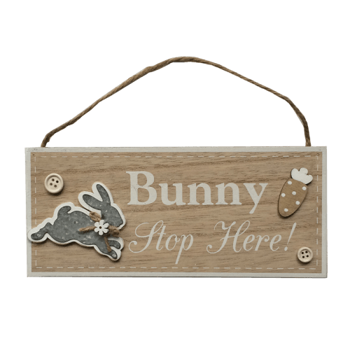 Urban Bunny Quote Board with Hanger - Global Free Style