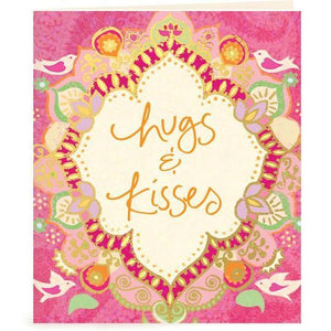 Intrinsic Hugs & Kisses Gift Tag - Global Free Style