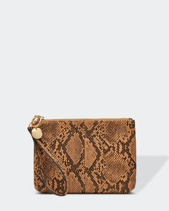 Louenhide Rita Python Coffee Clutch - Global Free Style