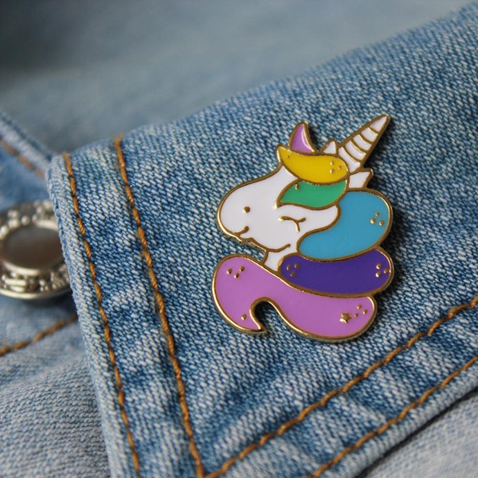 Lauren Hinkley Unicorn Pin - Global Free Style