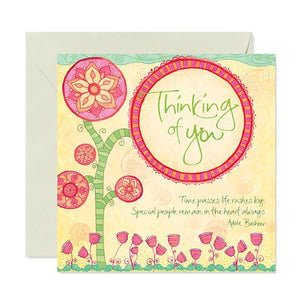 Intrinsic Thinking of You Greeting Card - Global Free Style