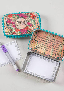 Natural Life Prayer Box Bucket List - Global Free Style