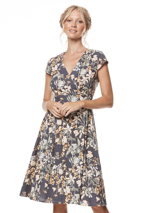 MahaShe Wrap Dress Zinnia - Global Free Style