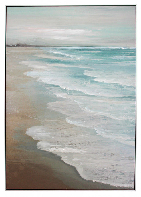 Lavida Framed Canvas Sandy Beach - Global Free Style