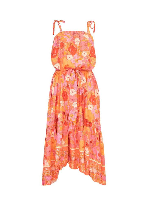 Label of Love Katya Long Floral Dress - Global Free Style