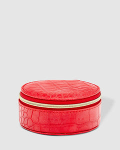Louenhide Sisco Croc Red Jewellery Box - Global Free Style
