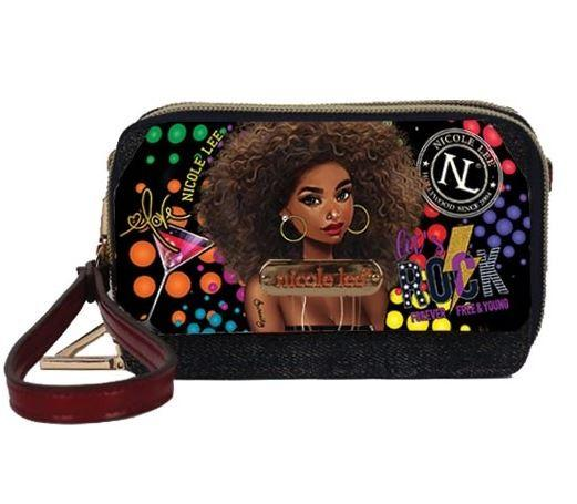 Nicole Lee Mini Denim Wallet Friday Night - Global Free Style