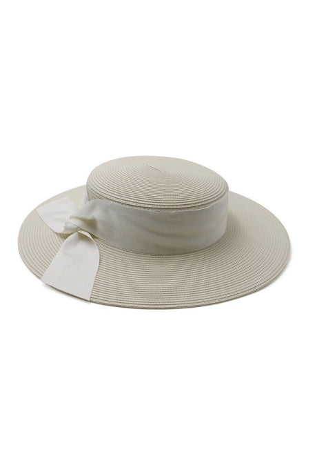 Morgan & Taylor Clarke Boater Fascinator Hat Cream - Global Free Style