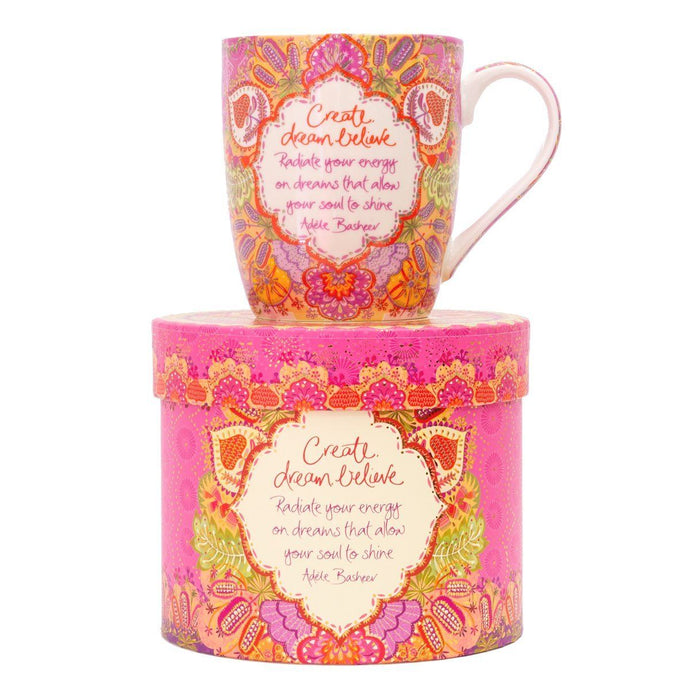 Intrinsic Create Dream Believe Mug - Global Free Style