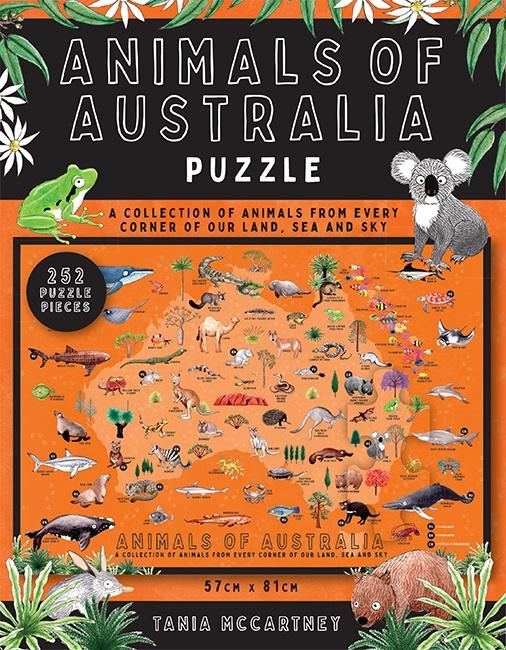 Animals of Australia Puzzle - Global Free Style