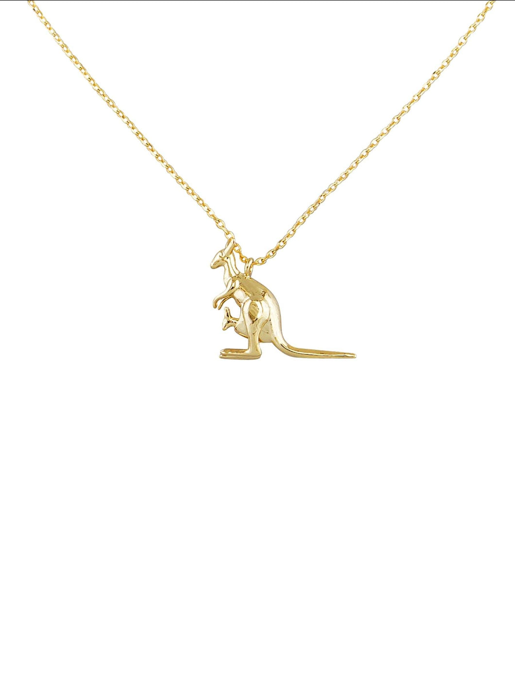 Tiger Tree Gold Skippy Necklace - Global Free Style