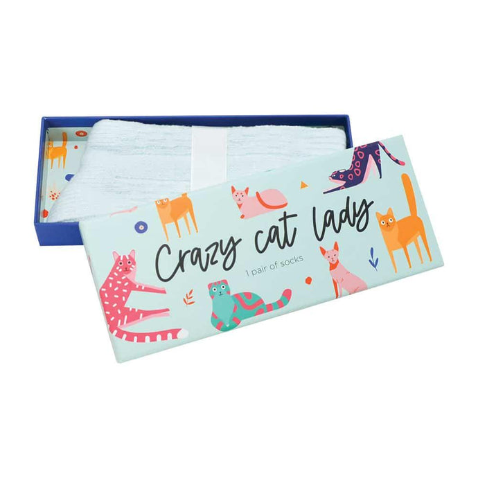 Annabel Trends Boxed Socks Crazy Cat Lady - Global Free Style