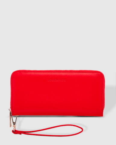 Louenhide Jessica Red Wallet - Global Free Style