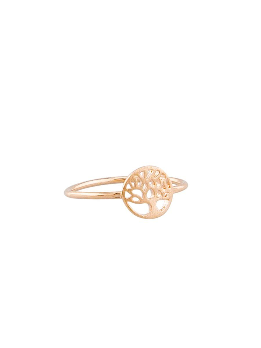 Tiger Tree Mini Tree Ring Rose Gold - Global Free Style