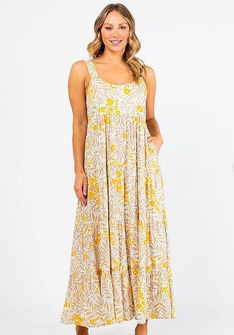 Ebby & I Buttercup Long Dress - Global Free Style
