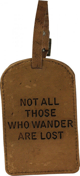 Lavida Leather Luggage Tag  - Wander - Global Free Style