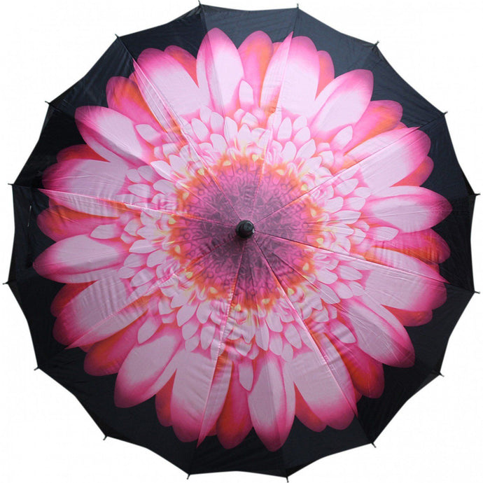 Lavida Umbrella Pink Flower - Global Free Style