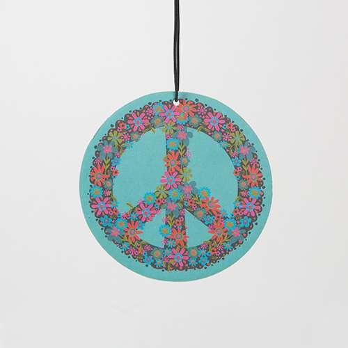 Natural Life Air Freshener Peace Symbol Jasmine - Global Free Style
