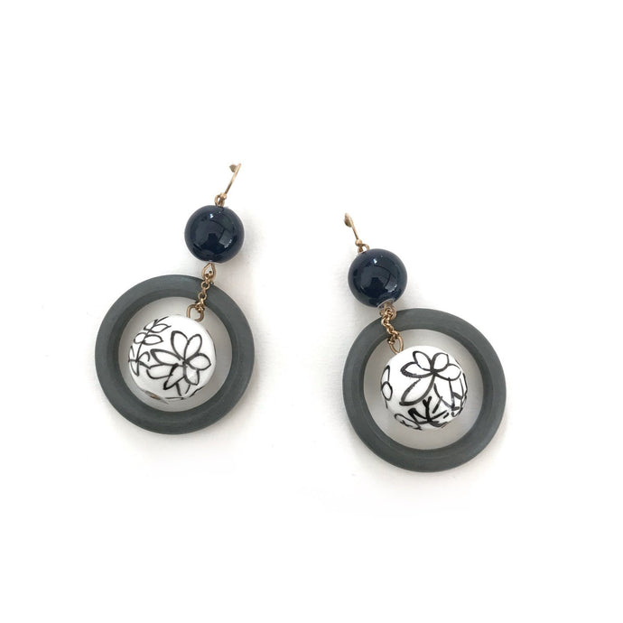 Zoda Lyndsey Earrings Blue - Global Free Style