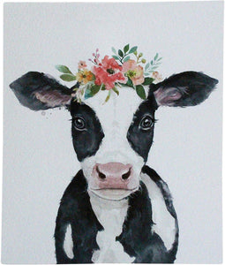 Lavida Wall Art Mini Cow Flowers - Global Free Style