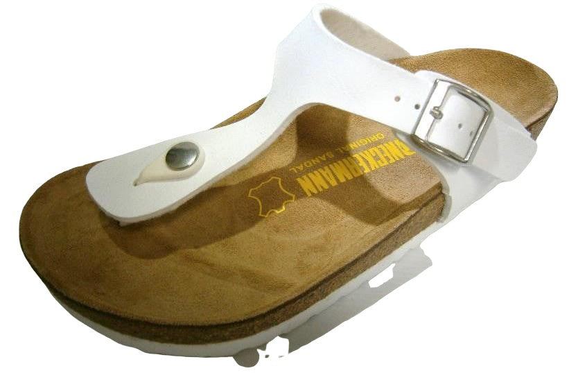 Neckermann Classic Thong Shoes White - Global Free Style