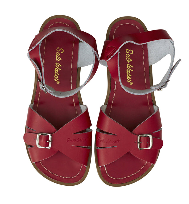 Salt Water Classic Shoes Red - Global Free Style